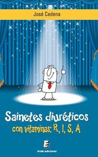 SAINETES DIURETICOS CON VITAMINAS R, I, S, A
