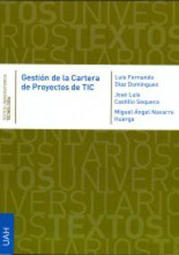 Gestion De La Cartera De Proyectos De Tic - Luis Fernando Diaz Dominguez