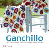Ganchillo - Hilos Y Lanas, Muestras, Prendas Clasicas, Ideas Creativas - Aa. Vv.