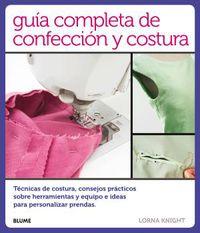 GUIA COMPLETA DE CONFECCION Y COSTURA