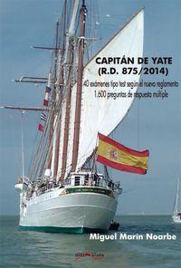 CAPITAN DE YATE