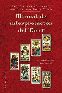 Manual De Interpretacion Del Tarot - Maria Del Mar Tort I Casals
