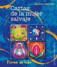 Cartas De La Mujer Salvaje (+baraja) - Beatrice Lheriteau