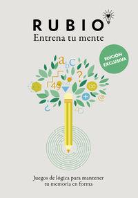 (ED EXCLUSIVA) ENTRENA TU MENTE - JUEGOS DE LOGICA PARA MANTENER TU MEMORIA EN FORMA