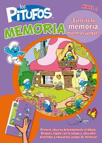 PITUFOS MEMORIA, LOS - NIVEL 2