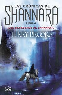 Herederos De Shannara, Los - Las Cronicas De Shannara 4 - Terry Brooks
