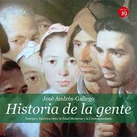 HISTORIA DE LA GENTE - AMERICA Y EUROPA ENTRE LA EDADES MODERNA Y CONTEMPORANEA
