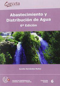 (6 ED) ABASTECIMIENTO Y DISTRIBUCION DE AGUA
