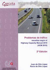 PROBLEMAS DE TRAFICO RESUELTOS SEGUN EL HIGHWAY CAPACITY MANUAL 2010