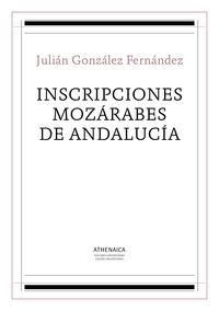 INSCRIPCIONES MOZARABES DE ANDALUCIA