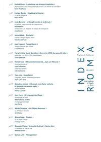 Index Roma - Programa De Residencias En La Real Academia De España En Roma 2014-2015 - Aa. Vv.