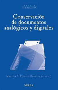CONSERVACION DE DOCUMENTOS ANALOGICOS Y DIGITALES
