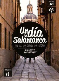 DIA EN SALAMANCA, UN (A1) (+MP3 DESCARG)