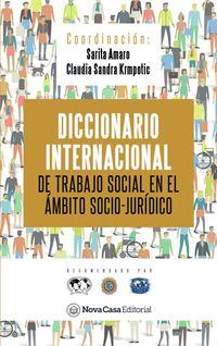 DICCIONARIO INTERNACIONAL DE TRABAJO SOCIAL EN AMBITO SOCIO