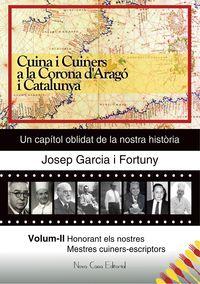 CUINA I CUINERS A A CORONA D'ARAGO I CATALUNYA II