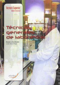 CF - TECNICAS GENERALES DE LABORATORIO