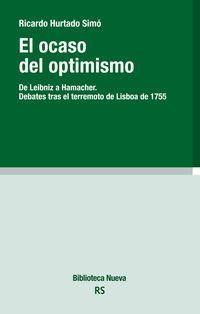 El ocaso del optimismo - Ricardo Hurtado Simo