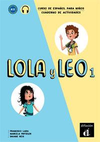 LOLA Y LEO 1 (A1.1) CUAD (+MP3 DESCARG)