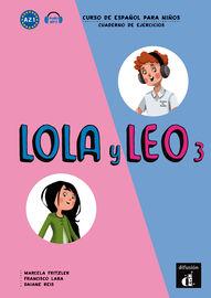 LOLA Y LEO 3 (A2.1) CUAD (+MP3 DESCARG)