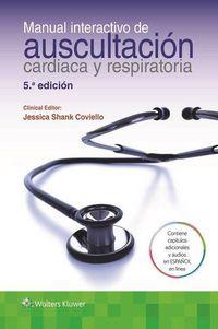 (5 ED) MANUAL INTERACTIVO DE AUSCULTACION CARDIACA Y PULMONAR