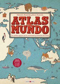 atlas del mundo - Aleksandra Mizielinska / Daniel Mizienlinki