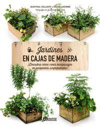 jardines en cajas de madera - Aa. Vv.