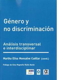 GENERO Y NO DISCRIMINACION