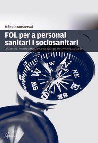 GM / GS - FOL PER A PERSONAL SANITARI I SOCIOSANITARI (CAT) - MODUL TRANSVERSAL