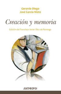 Creacion Y Memoria - Aa. Vv.