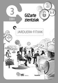 DBH 3 - EKI - GIZARTE ZIENTZIAK - JARDUERA FITXAK