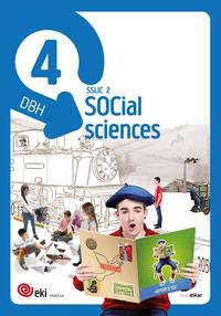 DBH 4 - EKI - SOCIAL SCIENCES 4 (PACK 3)