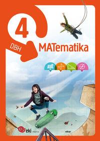 Dbh 4 - Eki - Matematika 4 (pack 3) - Batzuk
