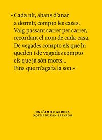 ON L'AMOR ARRELA - CONVERSES AMB AVIS I AVIES DE MEDIONA