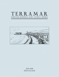 TERRAMAR - REVISTA D'ART, LLETRES I DEPORTS
