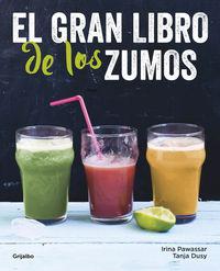 GRAN LIBRO DE LOS ZUMOS, EL