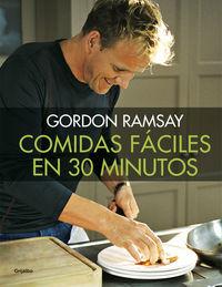 COMIDAS FACILES EN 30 MINUTOS