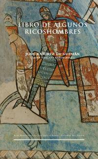 LIBRO DE ALGUNOS RICOSHOMBRES