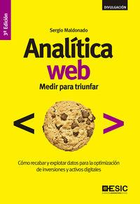 (3ª ED) ANALITICA WEB - MEDIR PARA TRIUNFAR