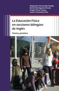 EDUCACION FISICA EN SECCIONES BILINGUES DE INGLES, LA