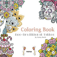 COLORING BOOK - NEO-TRADITIONAL TATTOO