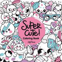 Super Cute! Coloring Book - Aa. Vv.