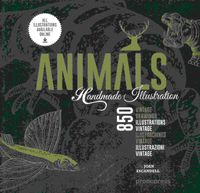 ANIMALS HADNMADE ILLUSTRATION - 850 ILUSTRACIONES RETRO