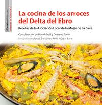 La cocina de los arroces del delta del ebro - Aa. Vv.