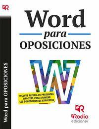 Word Para Oposiciones - Aa. Vv.