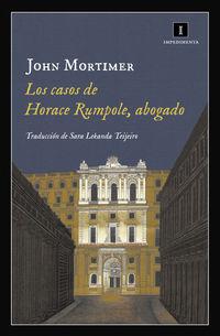 Abogado, Los casos de horace rumpole - John Mortimer