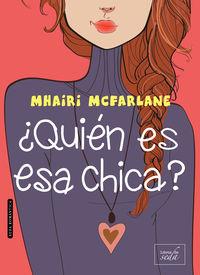 ¿quien es esa chica? - Mhairi Mcfarlane