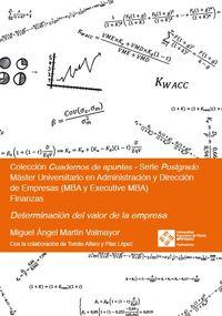 Determinacion Del Valor De La Empresa - Miguel Angel Martin Valmayor