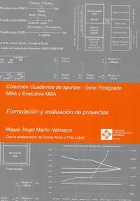 Formulacion Y Evaluacion De Proyectos - Miguel Angel Martin Valmayor