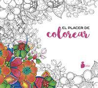 El placer de colorear - Aa. Vv.