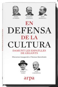 DEFENSA DE LA CULTURA, EN - DAMUNT LES ESPATLLES DE GEGANTS